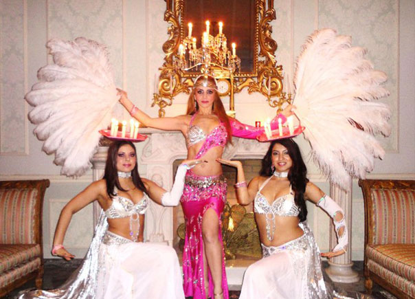 arabic night dancers for hire:nyc